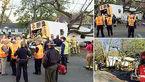 کشته شدن6 دانش آموزان در تصادف اتوبوس با درخت + عکس