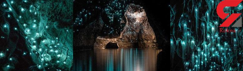 غارهای درخشان و کهکشانی؛ جاذبه گردشگری نیوزلند +تصاویر