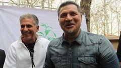 واکنش علی دایی به عنوان جانشینی کیروش! + عکس