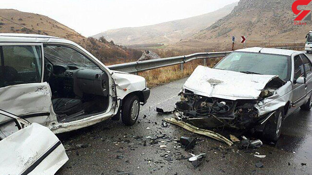 تصادف در محور دیلم بهبهان 2 کشته و مصدوم داشت