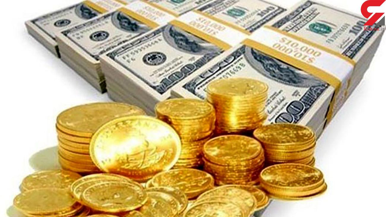 قیمت سکه، طلا و ارز در 26 تیرماه