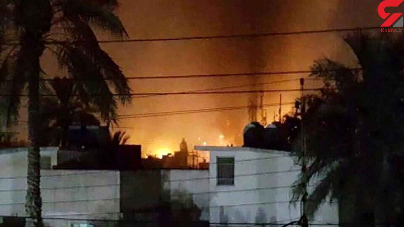 اولین فیلم از حمله موشکی به شهر اربیل + جزئیات و عکس