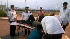 واژگونی یک دستگاه خودرو سواری در بستان/ این حادثه تلفات جانی نداشت