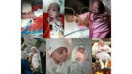 ماجرای نوزاد نیم کیلویی در قم/ لبخند رضایت پدر و مادر قمی