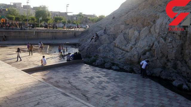 چشمه علی تهران هنوز خشک نشده است