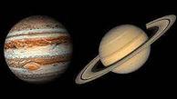 سیاره مشتری و زحل را امشب ببینید