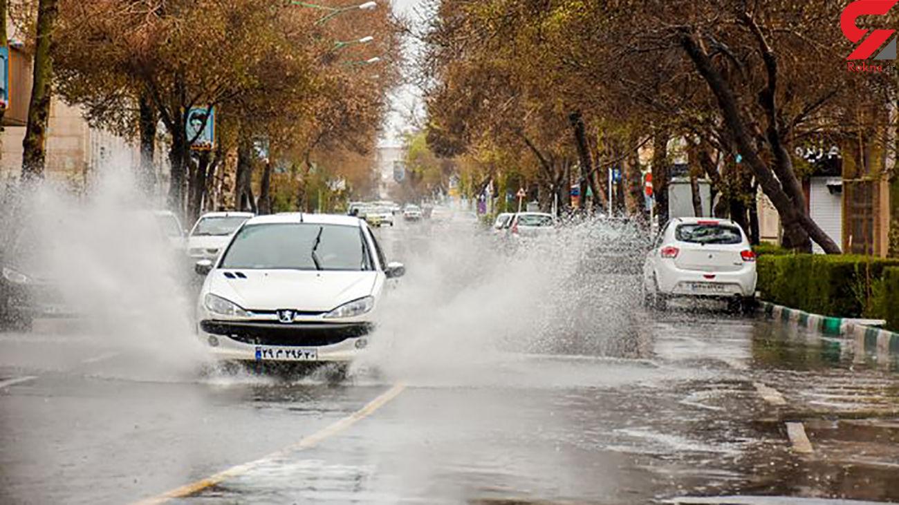 وضعیت آب و هوایی در 23 استان ایران