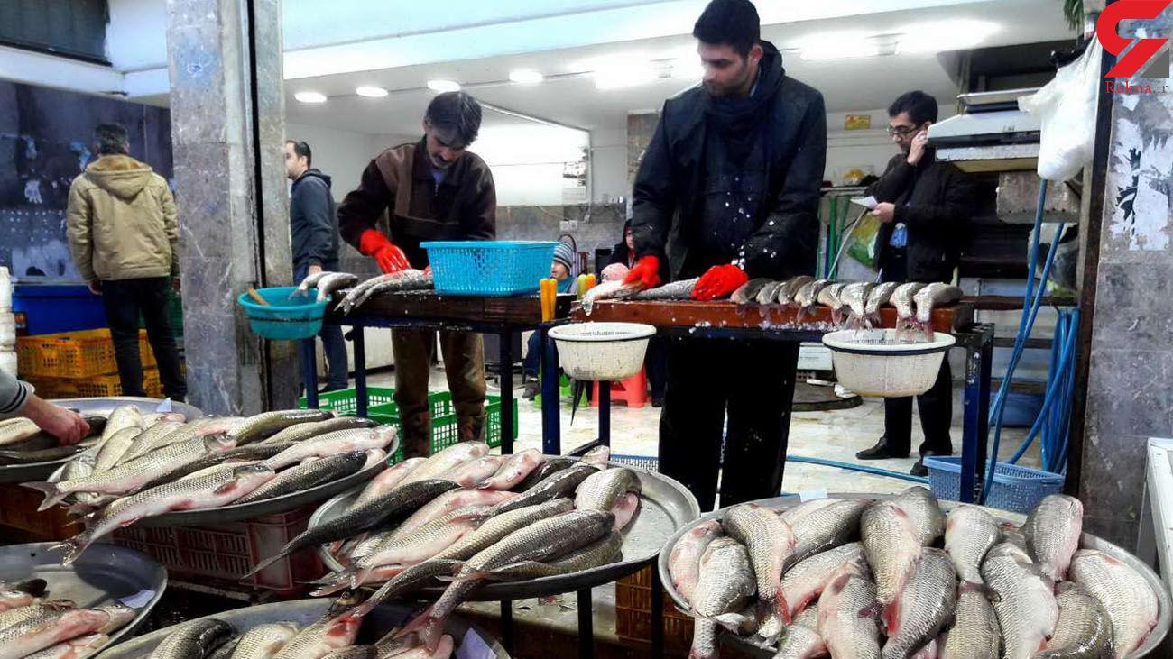 قیمت ماهی در بازار چهارشنبه 30 مهر ماه 99 + جدول