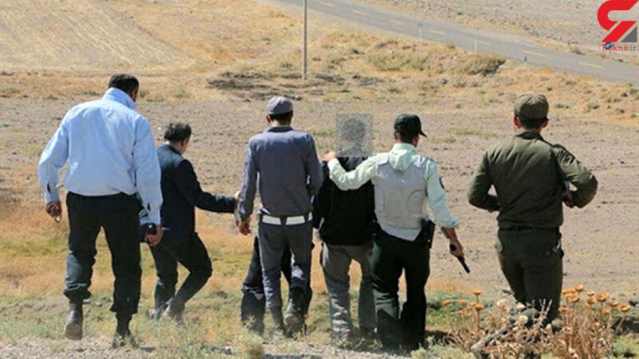 غارتگران گنج بی آبرو شدند / جزئیات بازداشت در مازندران