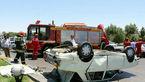 رانندگی مرگبار در بزرگراه امام علی (ع) + عکس عجیب