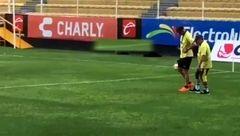 حال مارادونا خوب نیست ؛ او نمی تواند راه برود!+ عکس
