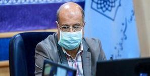 زالی: ظرفیت تزریق روزانه واکسن کرونا در تهران 100 هزار دُز است