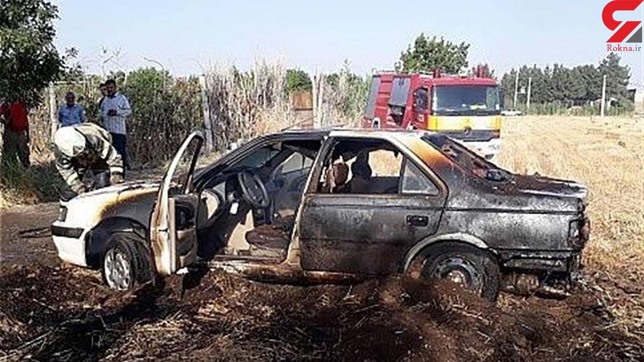 آتش سوزی که آتش سوزی دیگری را رقم زد / در شیراز رخ داد + عکس
