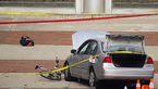 پسر دانشجو با خودرواش در حیاط دانشگاه 11 دانشجوی دختر و پسر را زیر گرفت + عکس