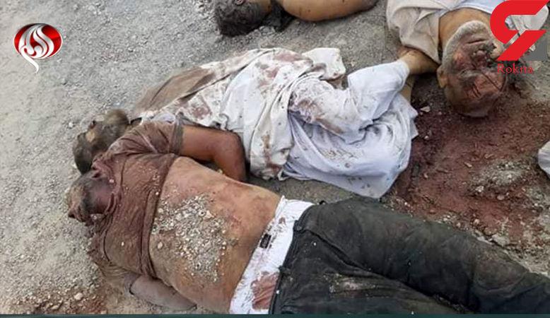عکس 16+ این بدن های بی جان اقدام وحشیانه وهابی های سعودی است