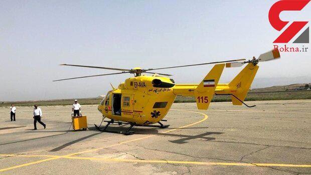 2 مأموریت اورژانس هوایی برای انتقال 2 زن باردار و 2 مرد مصدوم خوزستانی