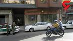 سرقت مسلحانه دزد نقابدار از یک بانک در دزاشیب + فیلم و عکس