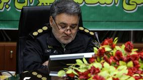 تلخ ترین خبر برای رییس پلیس مبارزه با مواد مخدر تهران در مصاحبه مطبوعاتی+ عکس