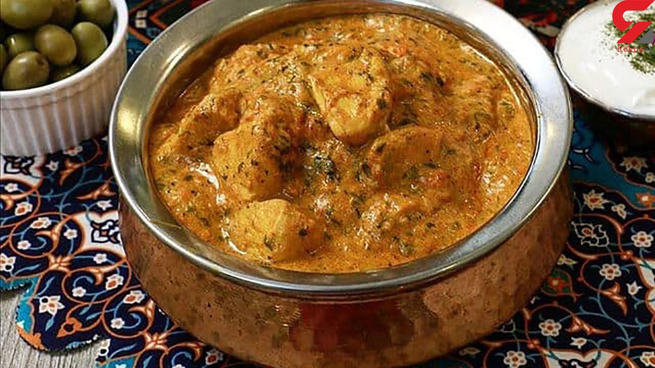خورشت مرغ هندی