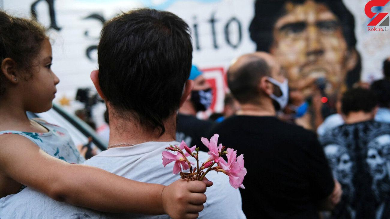 هفت روز عزای فوتبالی در آرژانتین با بازوبندهای مشکی برای «دیگو»