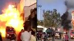 چیزی شبیه به معجزه / این انفجار مهیب در هتل تلفات جانی نداشت! +فیلم و عکس