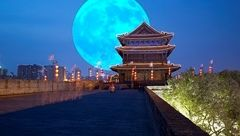 چین ماه مصنوعی ساخت