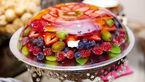 تزیین انواع ژله با میوه + عکس