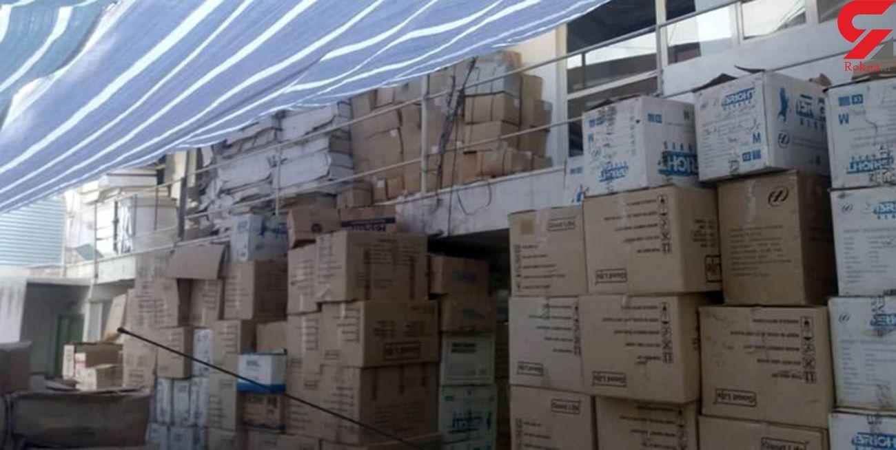 با تیزبینی پلیس سپیدان کالاهای قاچاق به مقصد نرسید
