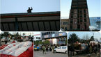 خودکشی مرد 35 ساله با کودک 4 ساله اش در بابل + عکس