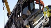 واژگونی مرگبار اتوبوس در جاده هراز + عکس