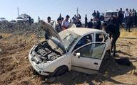 پژو 206 چپ کرد / یک تن جان باخت / در بروجرد رخ داد + عکس