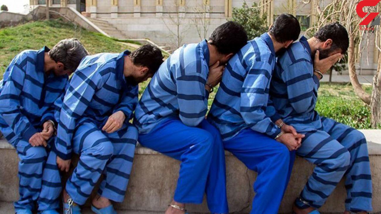 دستگیری باند سارقان کابل فشار قوی در آبادان