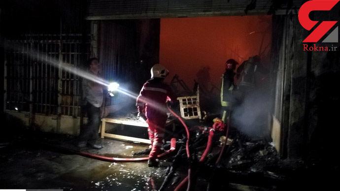 عکس های هولناک از آتش سوزی بامداد امروز در مشهد