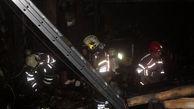 آتش سوزی هولناک در خیابان فلسطین / بامداد امروز رخ داد + عکس و فیلم