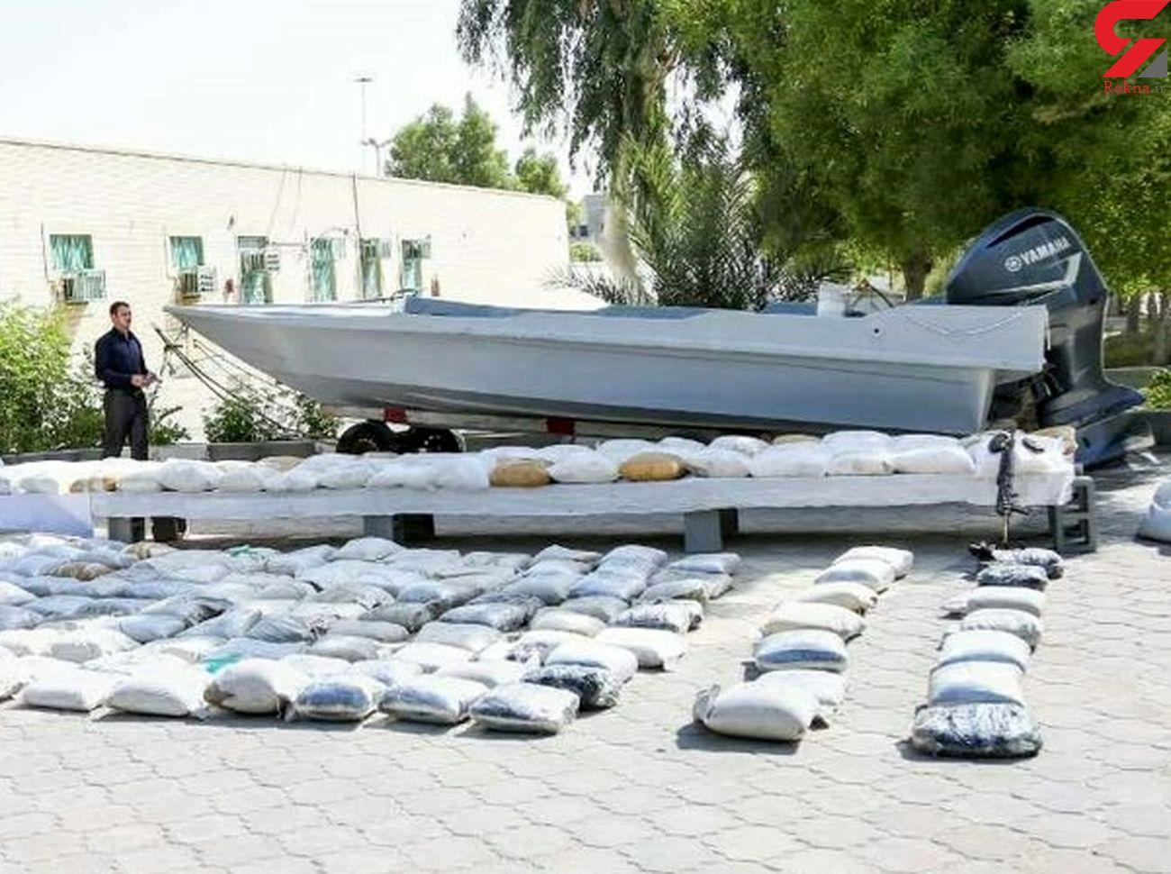 کشف محموله ۶۴۰ کیلوگرمی مواد مخدر در شهرستان بندر لنگه