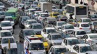 ترافیک پرحجم در بزرگراههای حکیم، همت و آیت الله هاشمی رفسنجانی