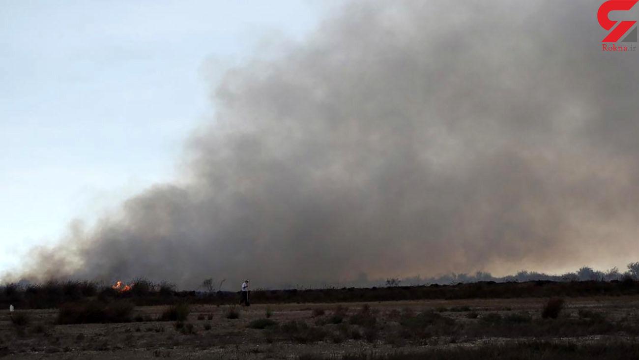 کشاورزان از سوزاندن بقایای گیاهی پرهیز کنند