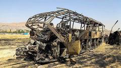 پزشکی قانونی: انجام آزمایش DNA خانواده متوفیان تصادف اتوبوس در ۳ استان