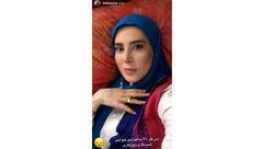 قیافه بی حال خانم بازیگر پس از 48 ساعت بی خوابی +عکس