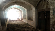 بخشی از یک بنای تاریخی در شهر قزوین تخریب شد