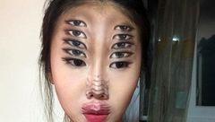دختر هزار چهره معروف در اینستاگرام کره ای است+تصاویر