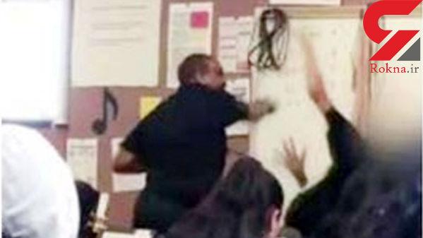 دستگیری معلم به خاطر کتک زدن دانش آموز 14 ساله + عکس