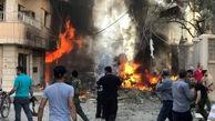 انفجار در نزدیکی کلیسایی در قامشلی سوریه+عکس