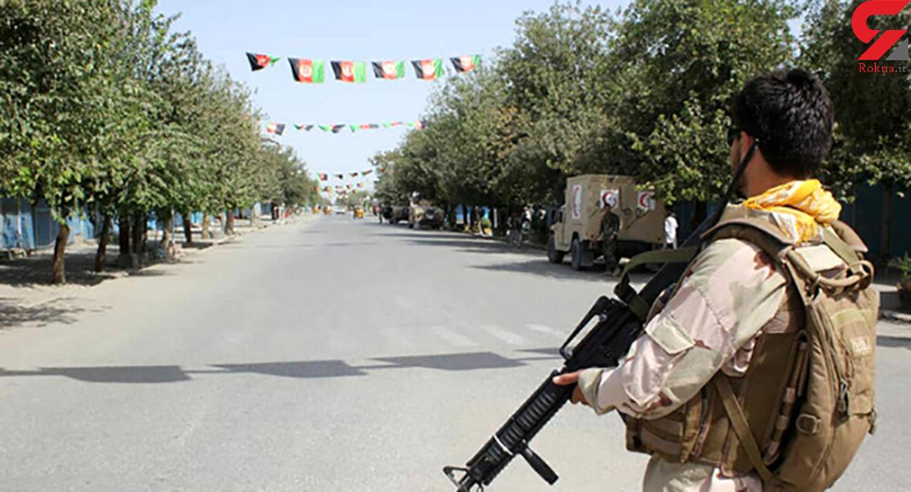 سرقت طالبان از یک ایست بازرسی در افغانستان