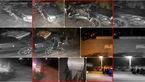 واژگونی پژو توسط راننده 18 ساله در بزرگراه نیایش تهران !+عکس