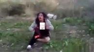 عکس 16+ / تجاوز جنسی پسر جوان به دوست دختر 18 ساله اش در باغ
