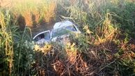 راننده پژو خواب آلود جانش را از دست داد / در همدان رخ داد + عکس