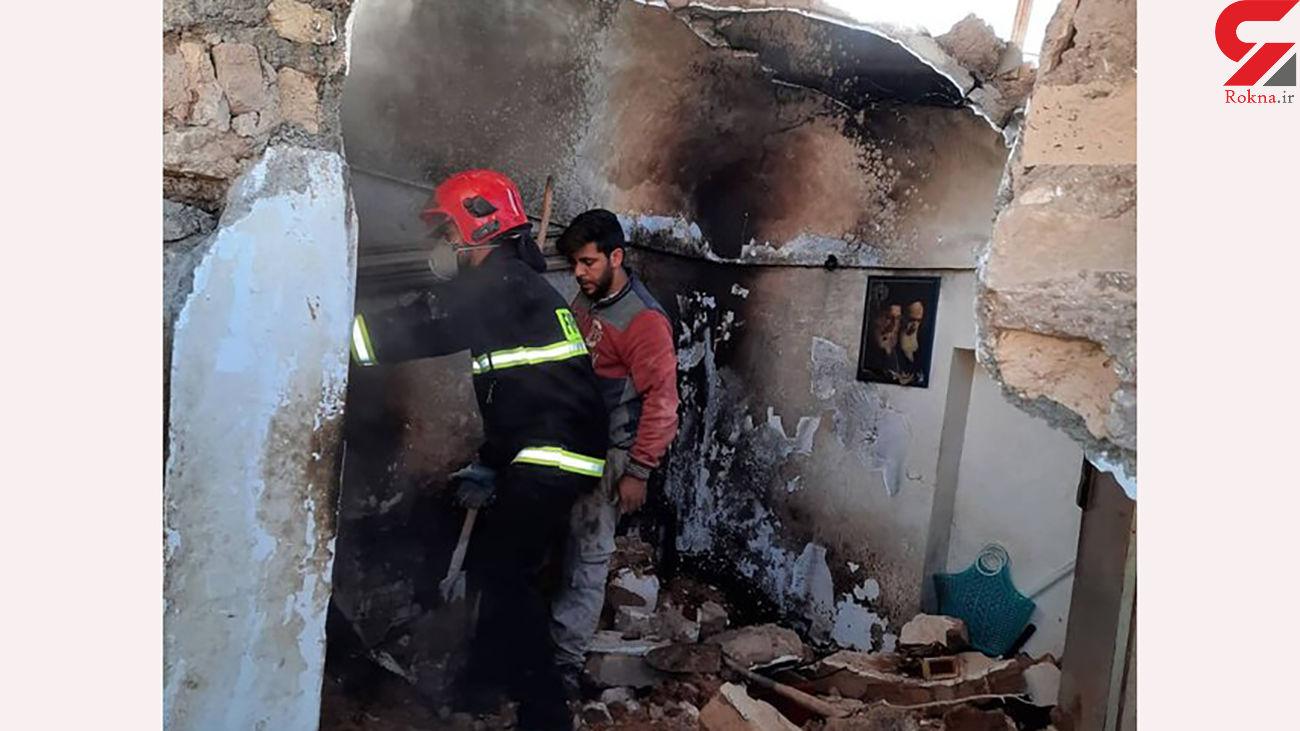 2 مرد کرمانی زنده زنده سوختند +  عکس