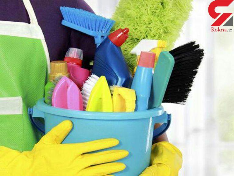 خطرات شوینده ها در خانه تکانی نوروزی