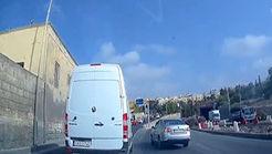 چپ کردن وحشتناک ماشین با رانندگی خطرناک + تصویر